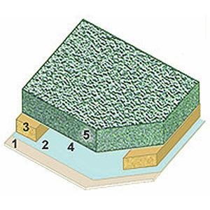 plafon montažne kuće
