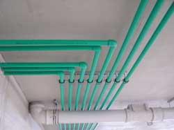 montazna kuca vodovodne cevi
